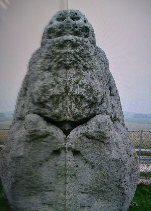 Heel Stone at Stone Henge